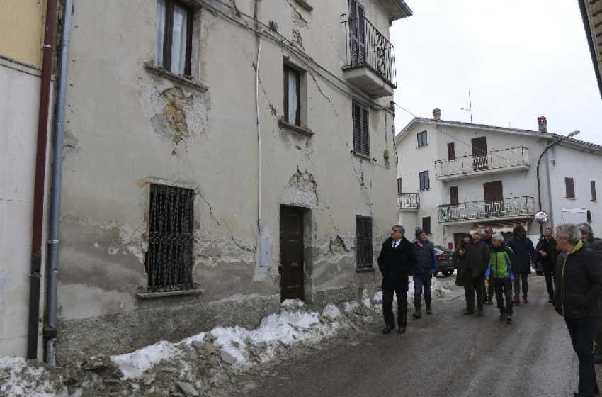 Terremoto Centro Italia: nove nuovi Comuni d'Abruzzo nel cratere