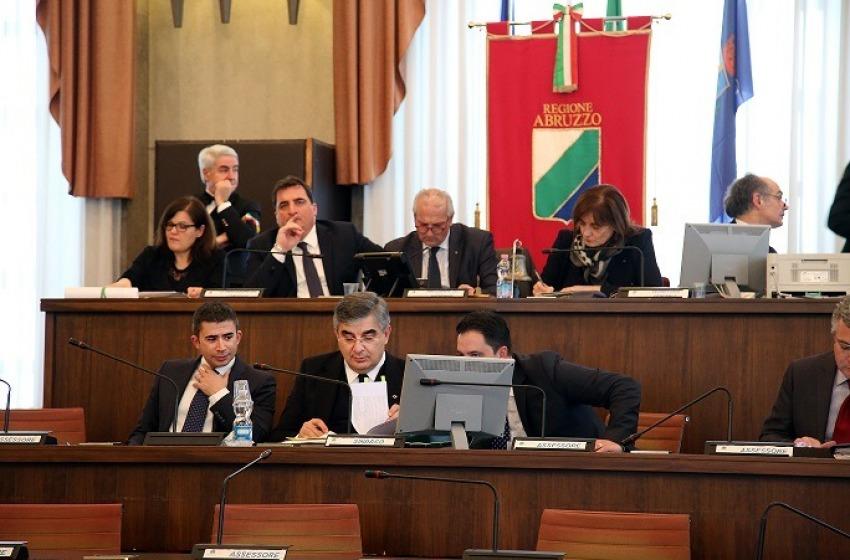 Consiglio regionale convocato per martedì 21 marzo a L'Aquila
