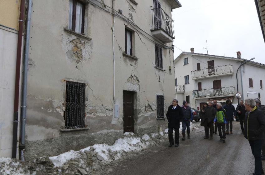L'Europa riduce il contributo di solidarietà per il terremoto del Centro Italia