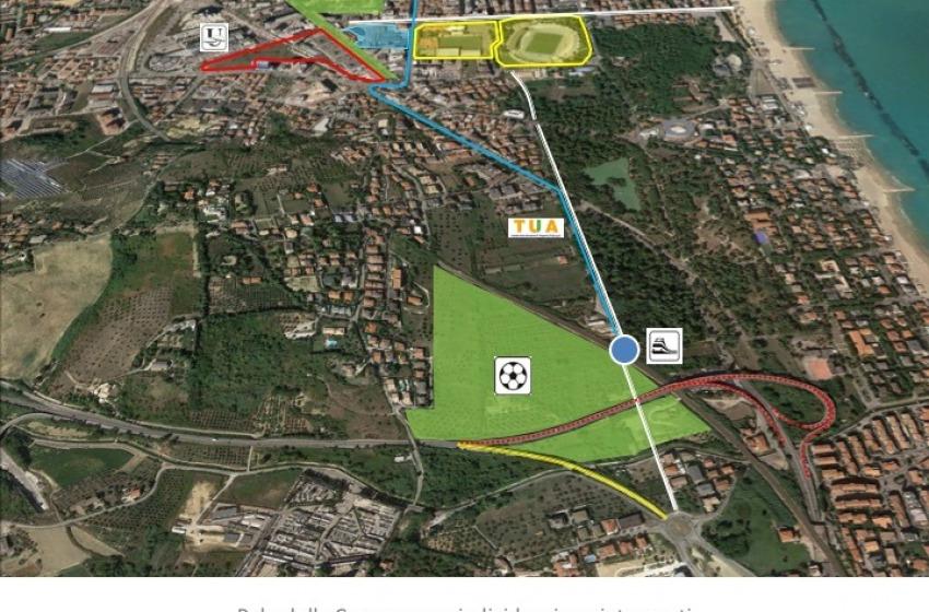 Presentato il progetto del Nuovo Stadio di Pescara e della Cittadella dello Sport