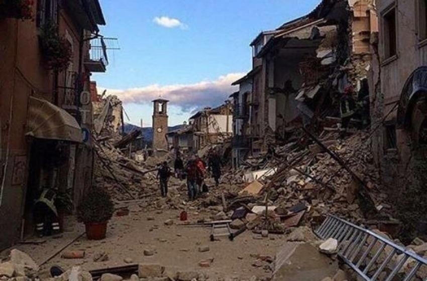 """""""l'ira divina"""" è la causa dei terremoti"""