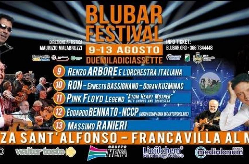 BluBar Festival 2017, cambia la location: via da piazza Sirena