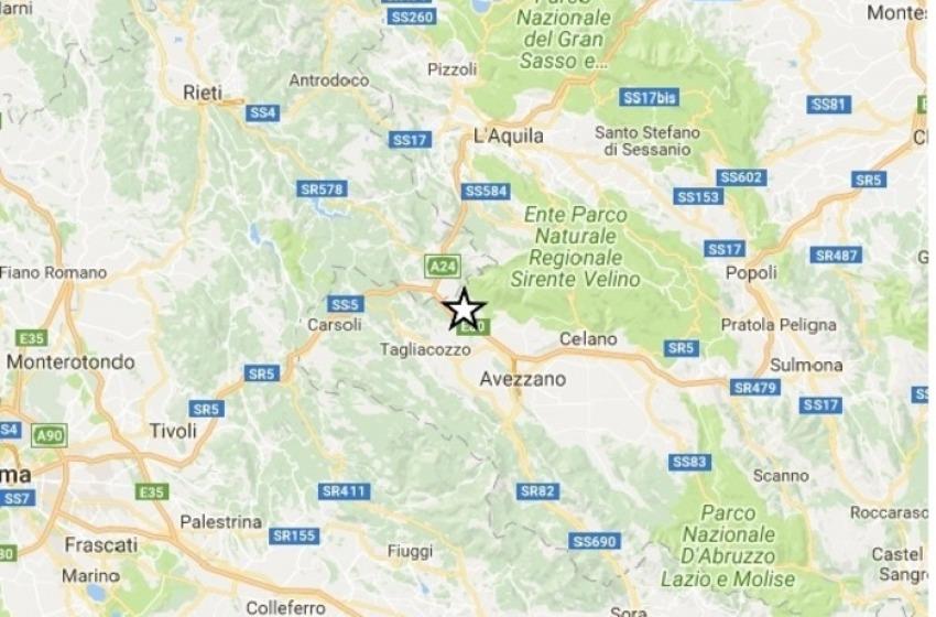 Terremoto di magnitudo 3.7 nella Marsica. Scuole chiuse ad Avezzano e Tagliacozzo