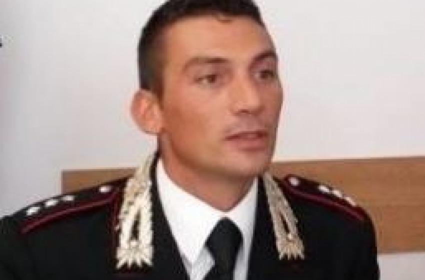 Claudio Scarponi lascia il comando della Compagnia dei Carabinieri di Pescara