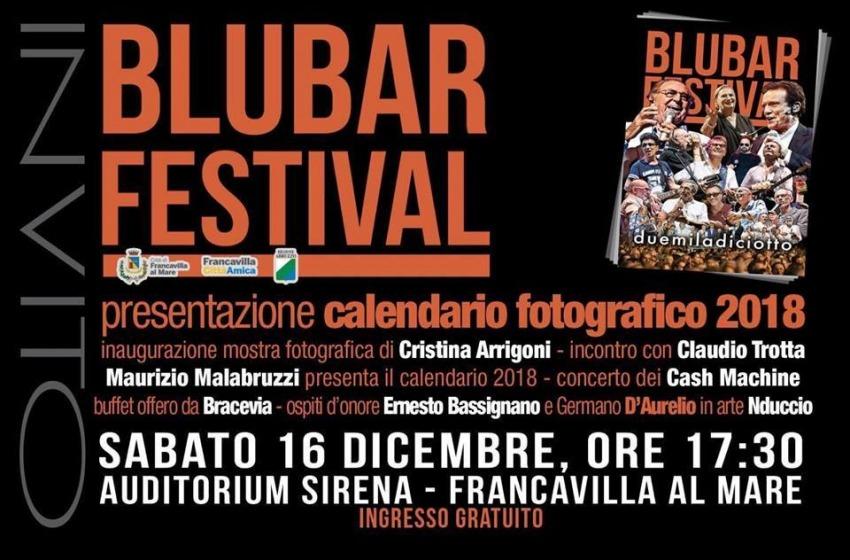 Blubar Festival, presentazione del calendario fotografico 2018