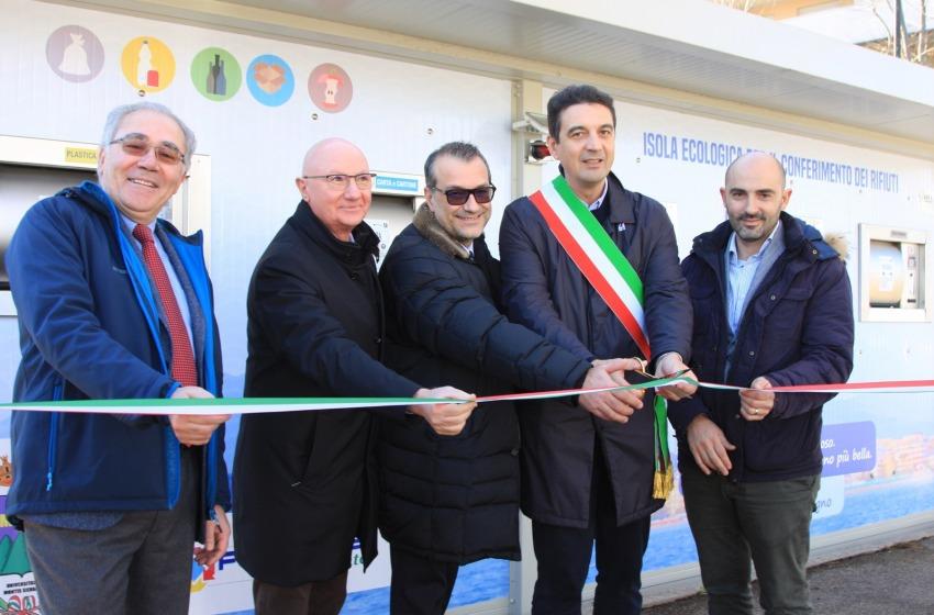 Rifiuti: inaugurata la prima isola ecologica di Montesilvano