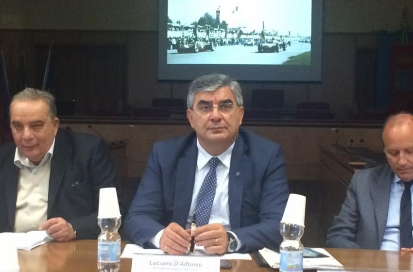 "Nuova Pescara, D'Alfonso ""stringe i tempi"" e punta la campagna elettorale"