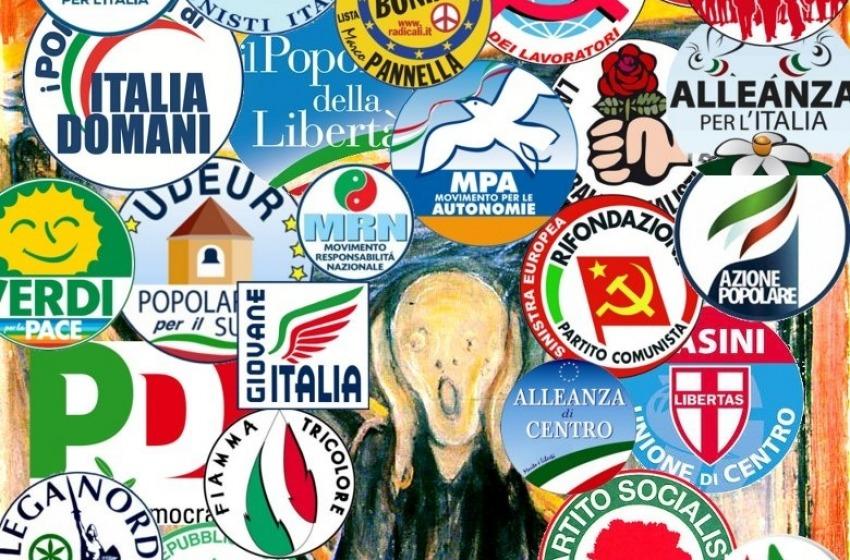 I giochetti politici in Italia