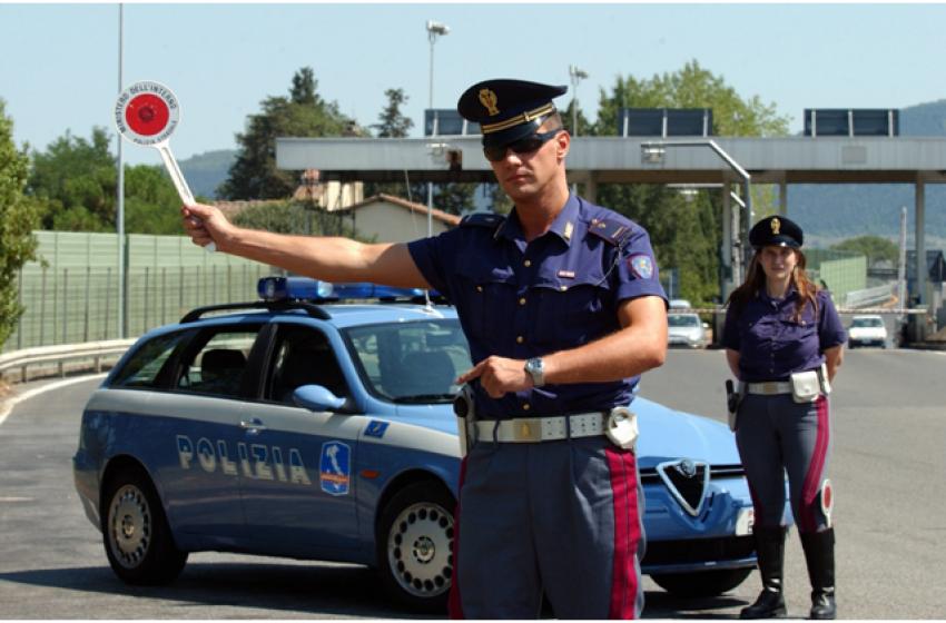Dalla Polizia Stradale il bilancio sul 2017 degli automobilisti abruzzesi