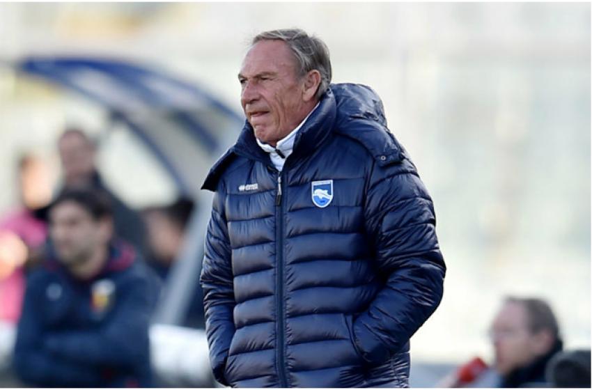 Il Pescara perde per 3-0 sul campo del Frosinone. Adesso per Zeman è dura