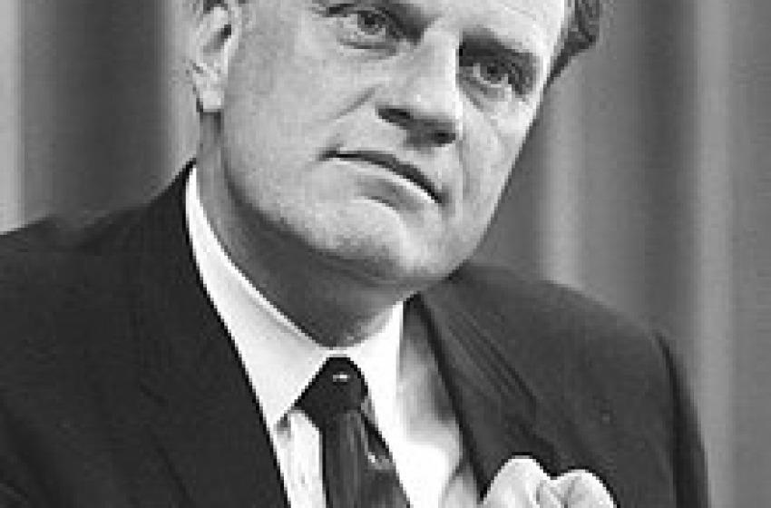 Billy Graham,il papa dei protestanti americani