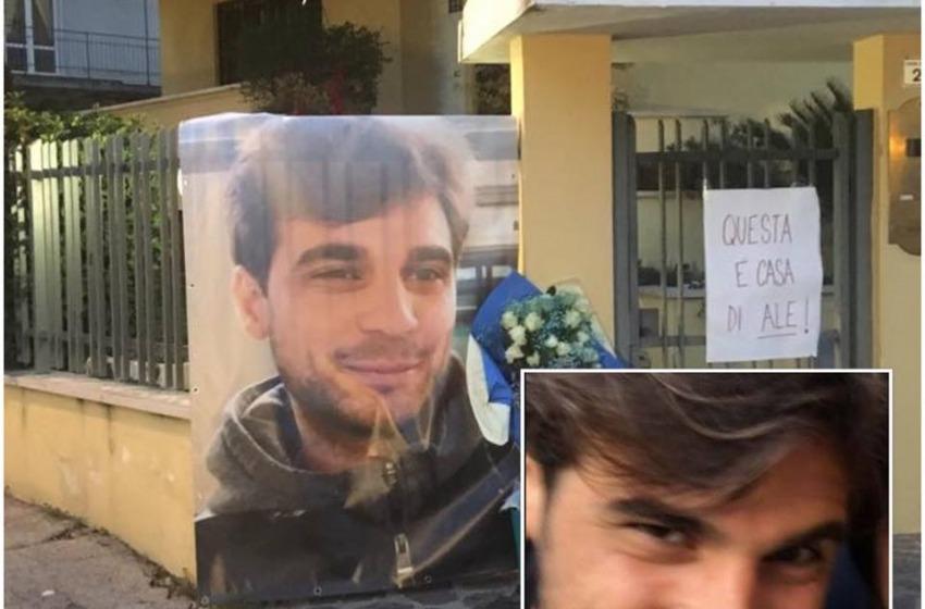 Sabato pomeriggio (15:30) a Villa Raspa i funerali del ventottenne Ale Neri