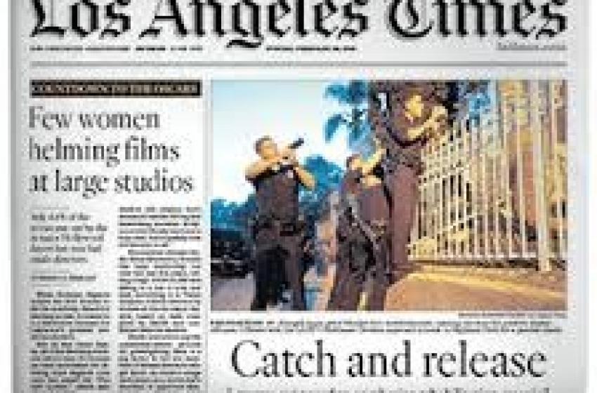 Il Los Angeles Time si trasferisce in provincia