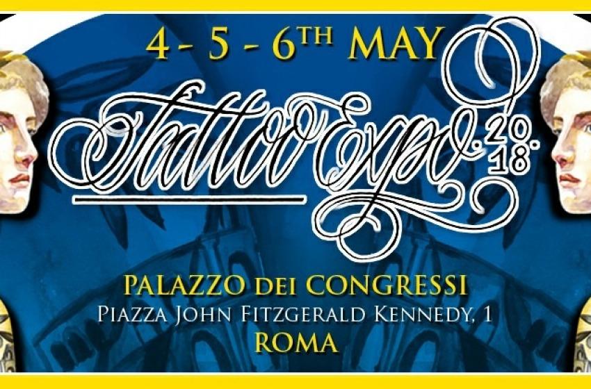 Internationa Tattoo Expo, i migliori tatuatori al mondo a Roma per la XIX Edizione