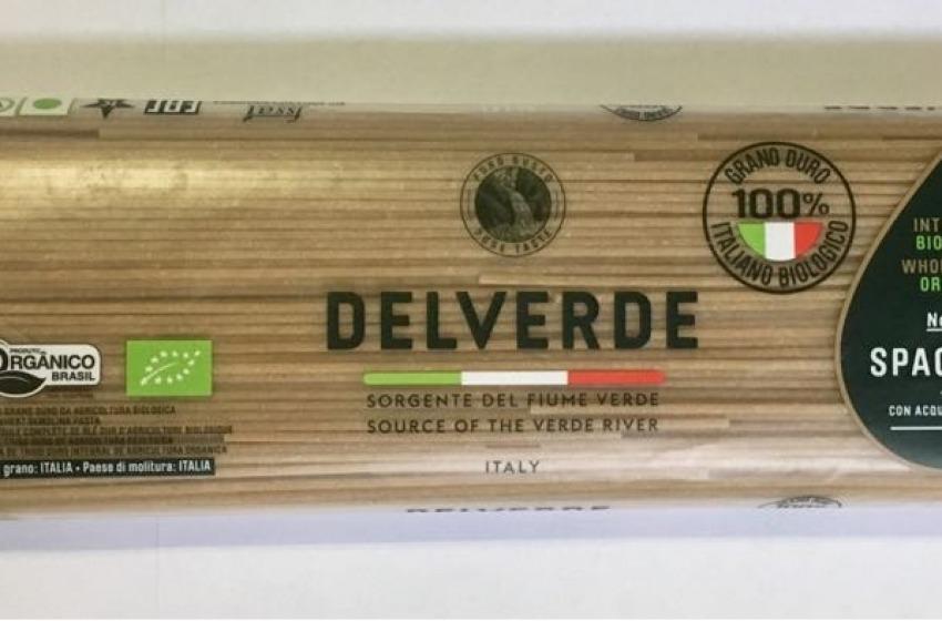 """Il pastificio """"Delverde"""" presenta il restyling della linea integrale bio 100% italiana"""