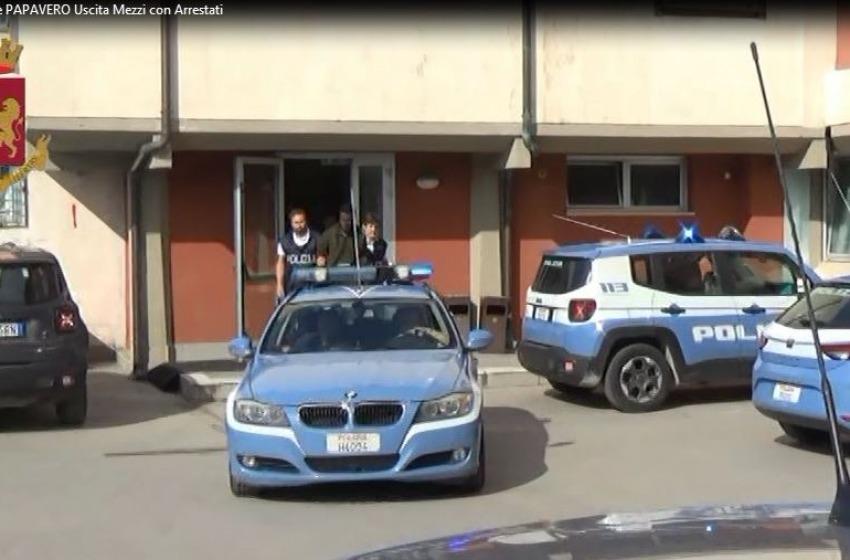 L'Aquila: raffica di perquisizioni e arresti nell'ambito dell'operazione Papavero