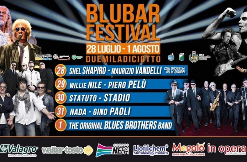 Piero Pelù, Gino Paoli e Stadio tra le star del Blubar Festival 2018