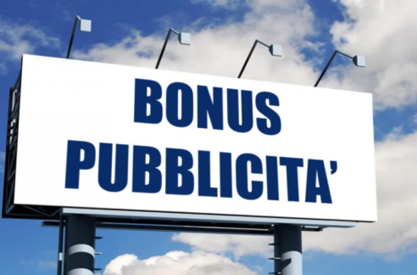 Bonus pubblicità, in Gazzetta Ufficiale il Decreto attuativo
