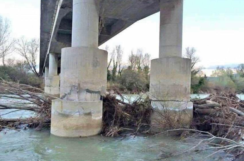 Abruzzo. Chiuso in via precauzionale il Ponte Nuovo sul fiume Sangro