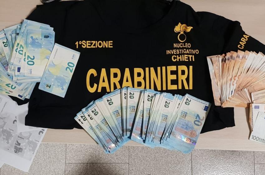 Aveva 3mila euro in banconote false ed un provvedimento di espulsione: arrestato