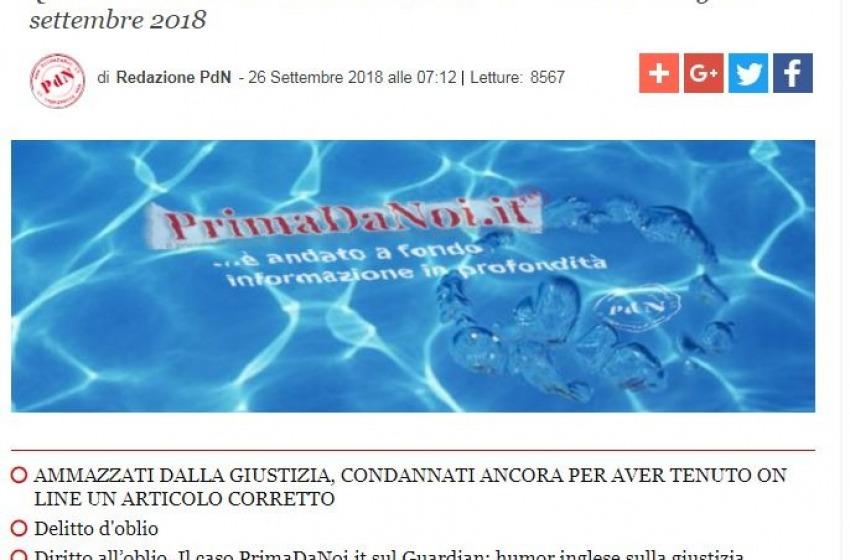 """Chiude il quotidiano Primadanoi.it, l'Abruzzo perde """"una colonna"""" nell'informazione"""