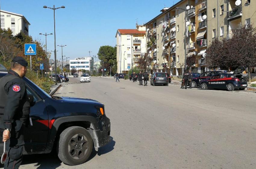 """""""Rancitelli"""": massiccio servizio di controllo dei Carabinieri nel quartiere"""