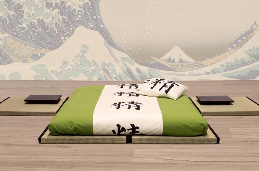 I tatami al posto del letto – Una soluzione tutta giapponese
