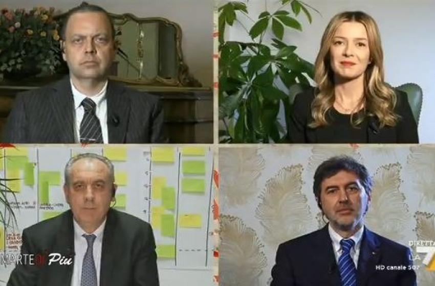 I candidati presidenti a #dimartedi'. Qual' e' la vostra pagella?