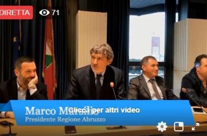 Ufficializzata la nuova Giunta Marsilio: i nomi e le deleghe