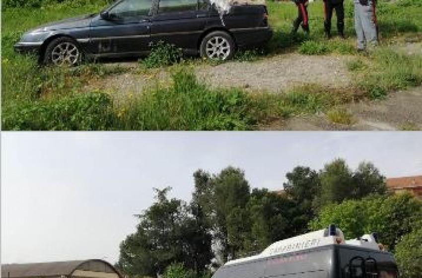 Carabinieri a Rancitelli per l' ambiente: sgomberati oltre 30 quintali di rifiuti