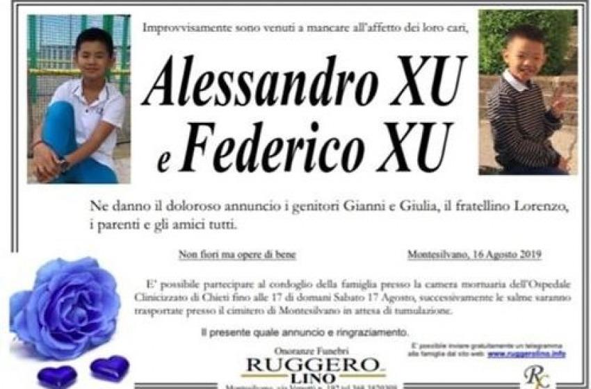 Tragedia di Ferragosto. Tutto l' Abruzzo si strige nel dolore della famiglia montesilvanese