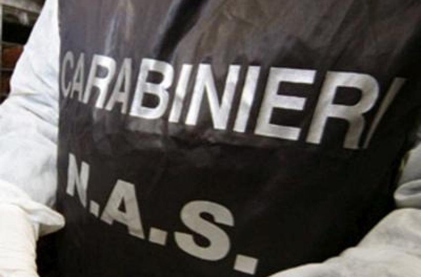 Carabinieri N.A.S. (Nucleo Anti Sofisticazioni) scatenati: sequestrati 270 Kg di alimenti