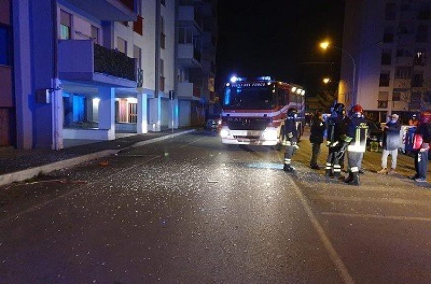 Esplosione in un palazzo di Via Carlo Alberto dalla Chiesa: e' dolosa
