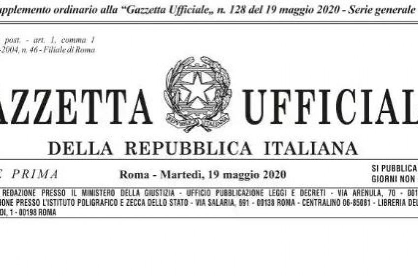 Decreto Rilancio 2020 pubblicato sulla Gazzetta Ufficiale: il testo completo