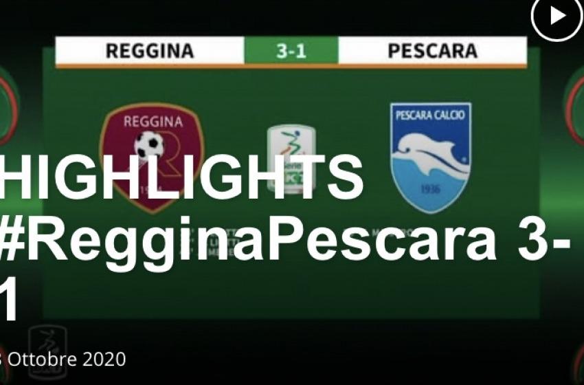 #RegginaPescara 3-1: prima sconfitta stagionale per Oddo