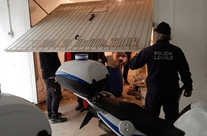 Montesilvano: acquisito garage confiscato a famiglia di camorra