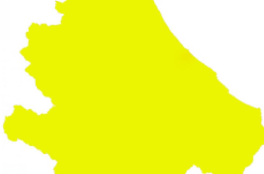 L'Abruzzo torna in zona gialla da lunedi' 1 febbraio