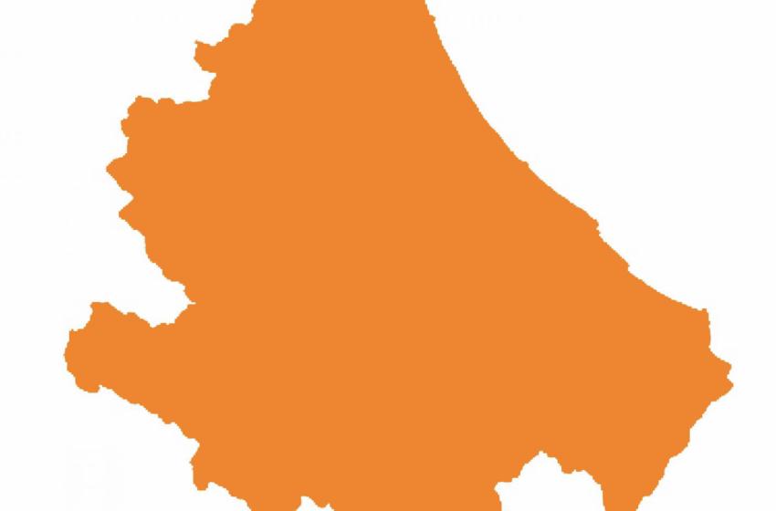 Tutti i comuni della provincia di Pescara e Chieti escono dalla zona rossa