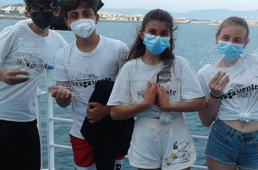 Vela: doppio podio per il Circolo Svagamente nella regata di Cagliari