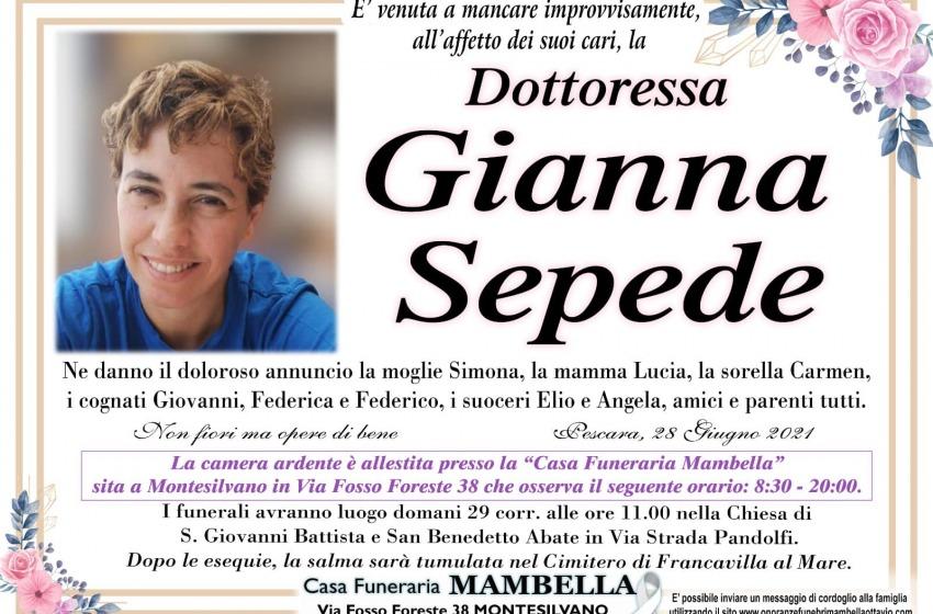 Futsal abruzzese in lutto: scomparsa a 48 anni Gianna Sepede
