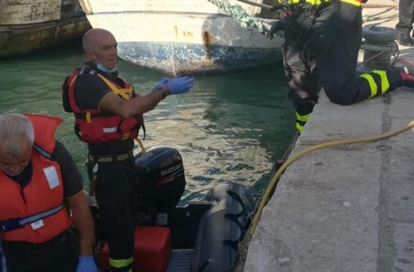 Pescara, corpo di una donna recuperato nel porto canale