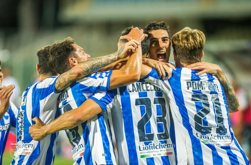 Coppa Italia: il Pescara parte con il piede giusto: 2-0 all'Olbia