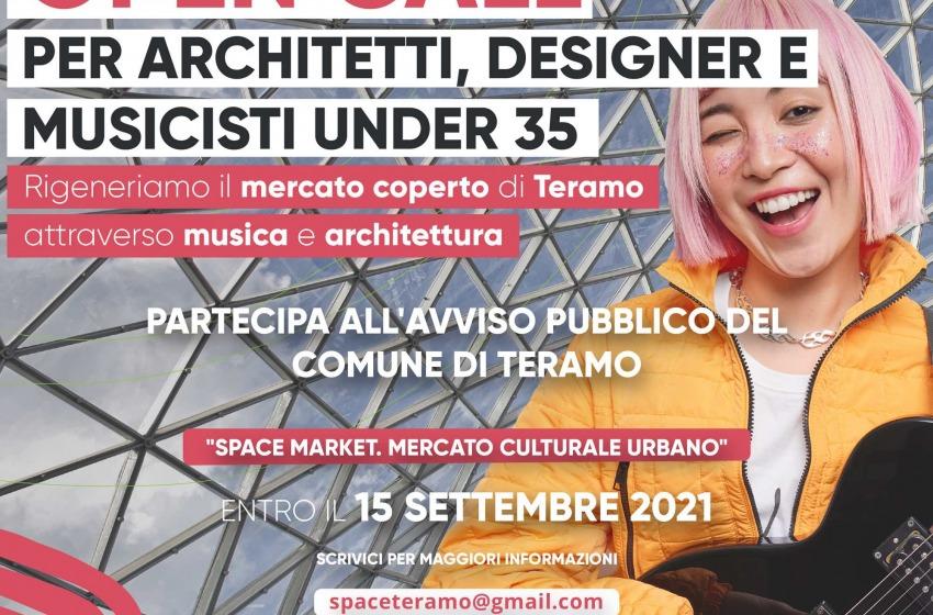 Terzo bando per Space Market a Teramo: aperta la call per architetti, designer, musicisti