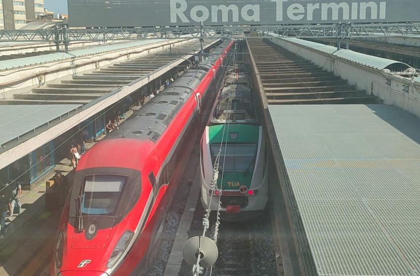 Treno veloce Pescara-Roma: effettuato test di prova