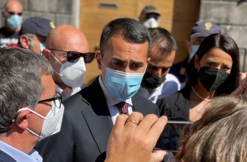 """Afghanistan, Di Maio a Sulmona: """"Regioni e Comuni hanno lavorato benissimo sull'accoglienza"""""""