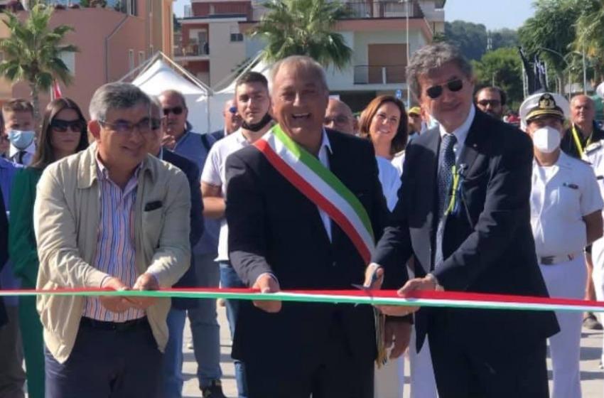 Finalmente é stato inaugurato il 'nuovo porto' di Francavilla al Mare