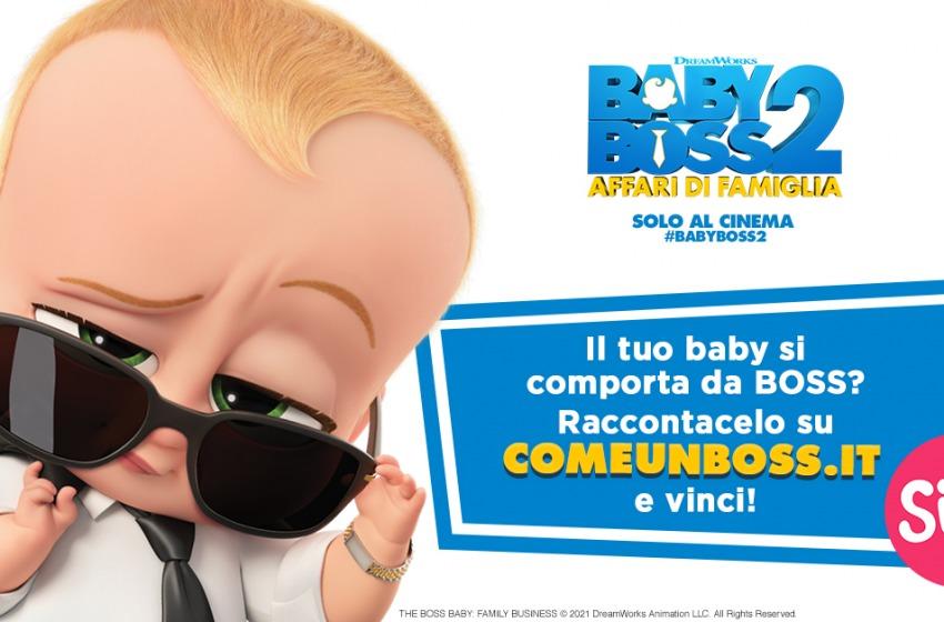 Baby Boss 2 - Affari di famiglia. Il nuovo contest per il lancio del film