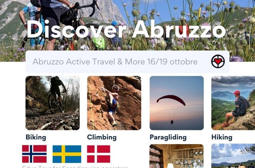 In bici alla scoperta dell'Abruzzo: dalla Scandinavia in arrivo dodici cycling stakeholders