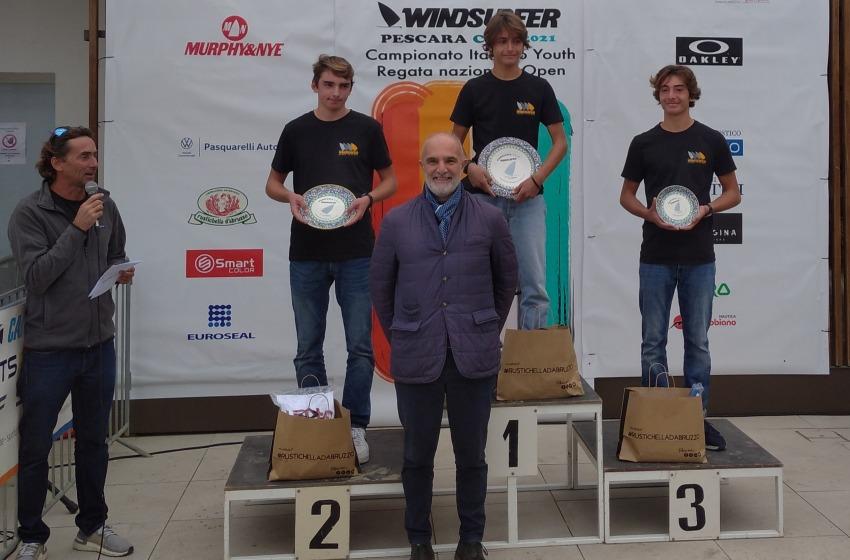 Rocco Del Proposto é campione italiano windsurfer junior 2021