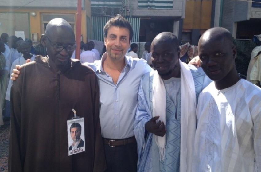 Di Mattia, saluti africani